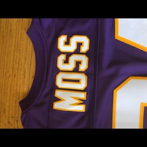 buy online 942a0 44406 Randy Moss Vikings jersey 2XL Mitchell & Ness